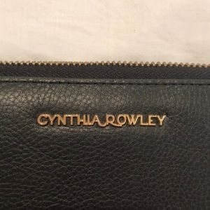 Cynthia Rowley Bags - Cynthia Rowley black leather wallet